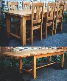 Table de Ferme 200x90,1allonge
